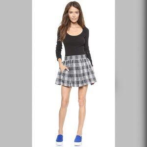 """""""Holly Go Lightly"""" FP Plaid Mini Skirt w/Pockets"""